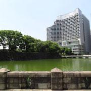 和田倉濠とパレスホテル東京