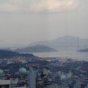 ホテルからの眺め / しまなみ海道・来島海峡大橋