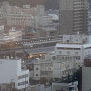 ホテルからの眺め / 今治駅