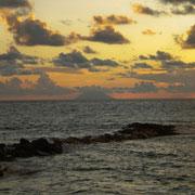 Der  Vulkan Stromboli