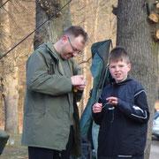 Vorstand Rainer und Sohn