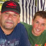 Vorstand Holger mit Sohn
