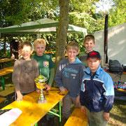 Andreas,Kai,Swen,Florian und Felix