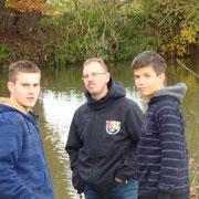 Patrick,Rainer und Johannes
