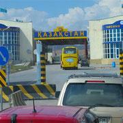 Grenzübergang von Kasachstan