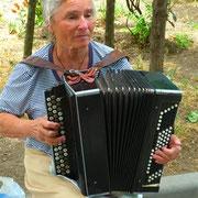 Im Park überall Akkordeonmusik