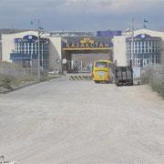 Grenze kasachstan