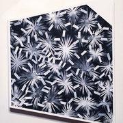 必要の強引 440x350x40mm / acrylic on canvas / 2017