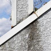 ③壁材、板金など外装類はシロアリの餌ではありません。