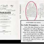 """Laneuville F., """"Notice de 6 tableaux"""",Hotel des Ventes rue des jeuneurs, Paris, 25 Febbraio 1847, lotto n.1, p. 3"""