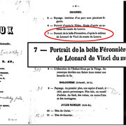 """Defer M., (expert), """"Catalogue d'une belle collection de tableaux anciens du Comte de Vichy"""", Hotel des Ventes Moilières, Parigi, 16 Aprile 1852 , p. 6"""