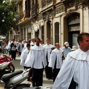 Chorreise nach Barcelona