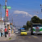 Riobamba mit Chimborazo