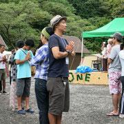 朝方ヨガでペアになったのは鈴木みきさんでした