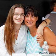 Angela Schmidt (Mutti von Phil Stewman) mit Fan