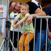 Florian Wend mit Sohn