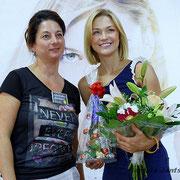Linda Hesse mit dem E-Center Schönebeck