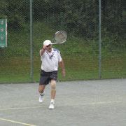 ....... und Tennis spielen