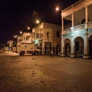 ....bei Nacht ist es erstaunlich ruhig gewesen