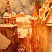 Nürnberg im Winter Gisa Gudden