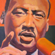 Martin Luther King  80 x 60 cm