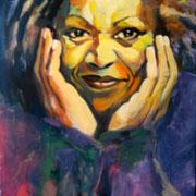 Toni Morrison  60 x 80 cm