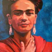 Frida Kahlo  50 x 70 cm