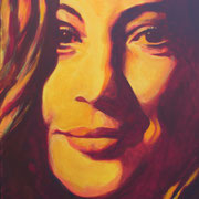 Romy Schneider 60 x 80 cm