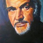 Sean Connery  60 x 80 cm