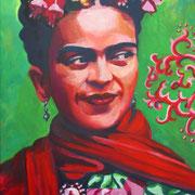 Frida Kahlo  80 x 100 cm
