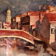 Brücke in Venedig Gisa Gudden