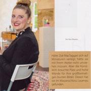 """STILZEIT - Das Magazin für Lebensart, """"Lebensfreude malen"""", Ausgabe 24, Sommer/Herbst 2020, S. 4-9"""