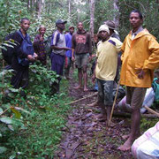 Paraecologists in Madagascar during field work.