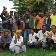 Group photo at a paraecologist training course at the Wondo Genet College, Ethiopia.
