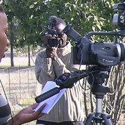 South African and Namibian paraecologists producing a documentary about their work.