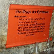 Eines der ersten Bierrezepte