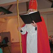 ... der über den Chor erstaunlicherweise genau Bescheid wusste.