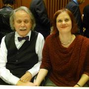 Heinrich Hartl und die Sopranistin Christine Ganslmayer