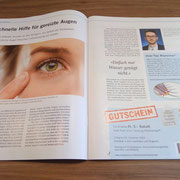 Artikel von Florian Nitzinger in der Zeitschrift von doktor stutz