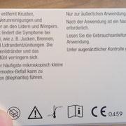 Blephademodex Beschreibung