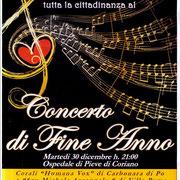 30 dicembre 2014 - Concerto in Ospedale a Pieve di Coriano