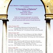 """10 Giugno 2017 - """"L'Incanto a palazzo"""" - Sala degli Specchi del Palazzo Ducale di Mantova"""