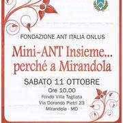 11 ottobre 2014 - Concerto a Villa Tagliata a favore dell'ANT