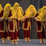 "Ensemble ""SABO"" (Ouzbékistan) - Photo D.CAUVAIN/FOLKOLOR 2012"