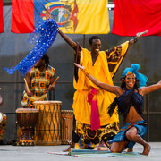 "Ballet ""Waato Siita"" (Sénégal) - Photo M.RENARD/FOLKOLOR 2012"