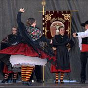 """Asociacion Folklorica """"Cristo de la Veracruz"""" (Espagne) - Photo D.CAUVAIN/FOLKOLOR 2012"""