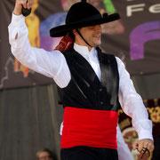 """Asociacion Folklorica """"Cristo de la Veracruz"""" (Espagne) - Photo M.RENARD/FOLKOLOR 2012"""