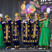 "Ensemble ""SABO"" (Ouzbékistan) - Photo M.RENARD/FOLKOLOR 2012"