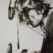 Bob für Birdy, Acryl auf Leinwand 80 x 60 cm