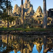 Bayon Tempel in Angkor Wat.